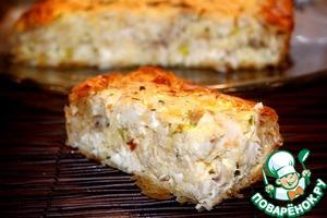 Рецепт Греческий деревенский пирог с курицей