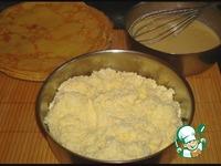 Блинный пирог с творогом ингредиенты