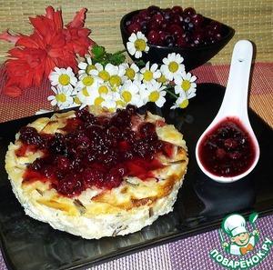 Рецепт Порционная запеканка из дикого риса и яблок