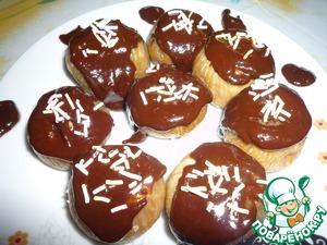 Рецепт Инжир с орехом в шоколаде