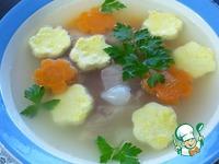 Диетический суп с омлетом ингредиенты