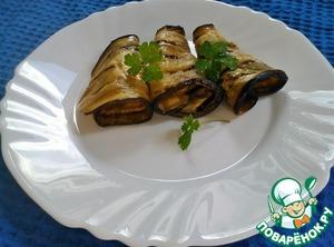 Рецепт Карпаччо с баклажанами (Carpaccio di melanzane)