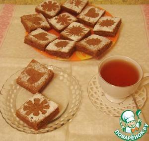 Рецепт Полезное пирожное