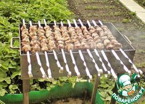 Рецепт Шашлык из баранины
