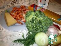 Паста с креветками и брокколи ингредиенты