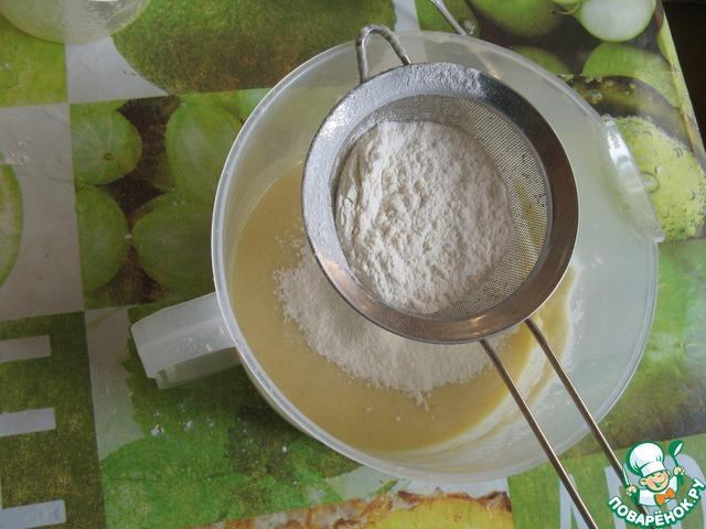 Приготовлен я теста из йогурта