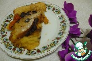 Рецепт Хлебно-масляный пудинг