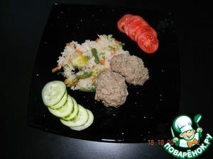Рецепт Диетический обед