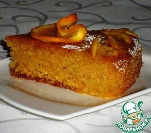Рецепт Марокканский апельсиново-миндальный пирог