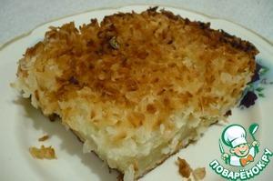 Рецепт Изумительный кокосовый пирог