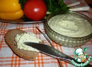 Рецепт Сырный паштет