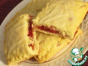 Рецепт Пирожки с клюквой + Бонус Печенье для детей