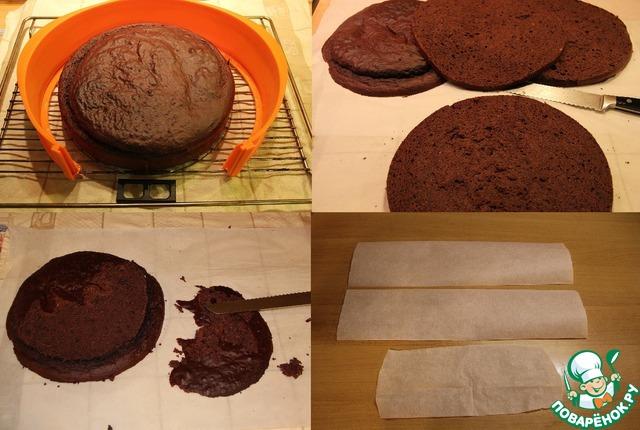 Торт с пропиткой рецепт пошагово