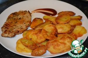 Рецепт Картофель на решетке
