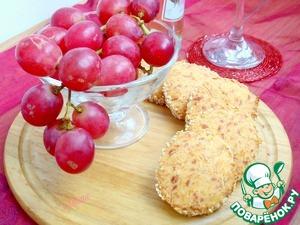 Как готовить Сырное печенье с кунжутом рецепт приготовления с фото