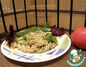 Рецепт Паста с брокколи и анчоусами от Джейми Оливера