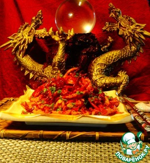 "Рецепт Салат ""Китайский дракон"""