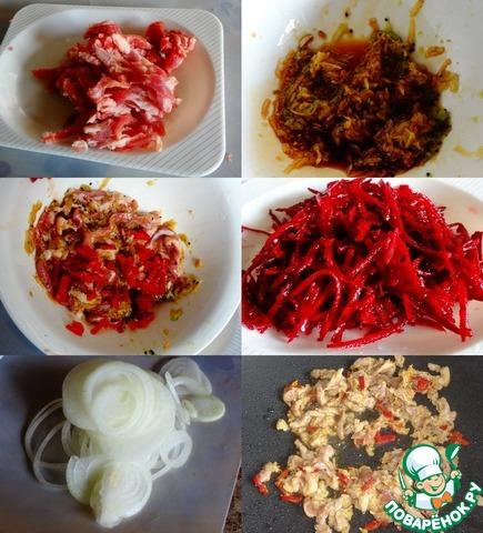 Салат китайский дракон рецепт с фото