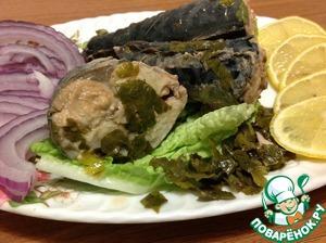 Рецепт Скумбрия в маринаде по грузински