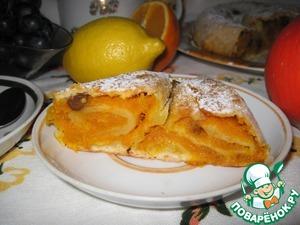 Рецепт Вертута с тыквой и изюмом