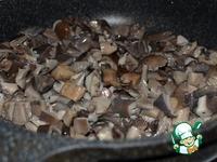 Перловка с вешенками под соусом из шпината ингредиенты