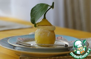 Рецепт Лимонное суфле от Martha Stewart