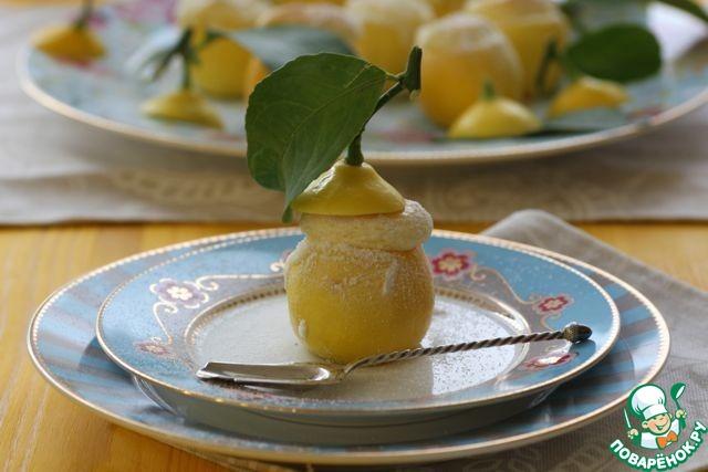 Лимонное суфле рецепт с фото