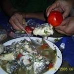 Рыбацкая уха по-казахстански