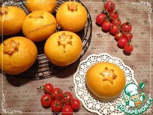 Рецепт Томатный хлеб с брынзой и томатами черри
