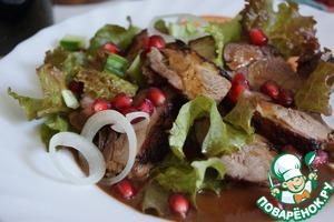 Рецепт Утка-гриль в клюквенном маринаде