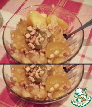 Рецепт Яблочно-ореховое варенье