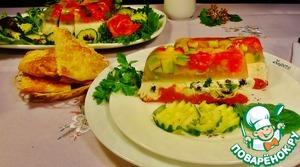 Рецепт Террин с фетой и овощами