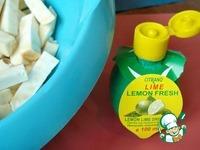 Жареный сельдерей ингредиенты