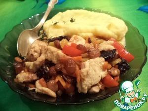 Курица «Мужская гордость» простой рецепт приготовления с фотографиями