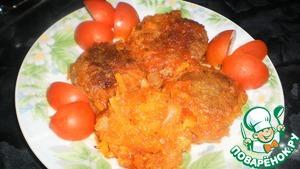 Рецепт Гречневые котлетки с овощным соусом