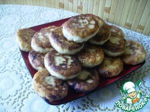 Рецепт Сырники овсяные с яблоком