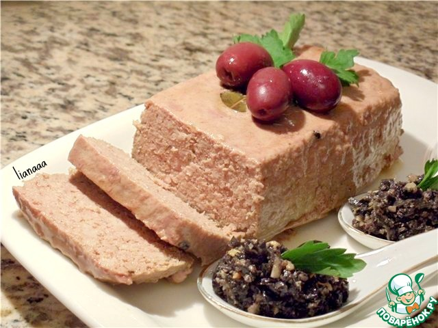 паштет из печени индейки рецепт с фото
