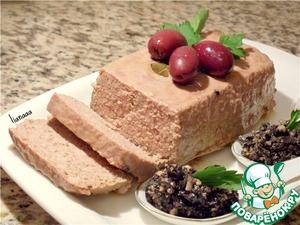 Рецепт Запеченный паштет из индейки