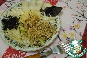 Рецепт Салат с топинамбуром и сельдереем