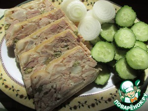 Рецепт Ветчина из свиной рульки