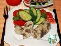 Куриные колбаски с сердечками и сыром ингредиенты