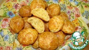 Рецепт Булочки с сыром и чесноком