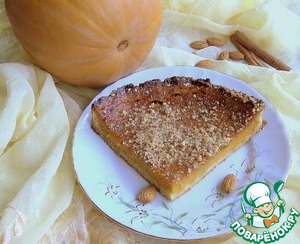 Рецепт Тыквенный пирог с маскарпоне