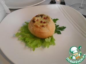 Рецепт Грибной кокот в булочке
