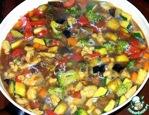 Овощи В Устричном Соусе Рецепт