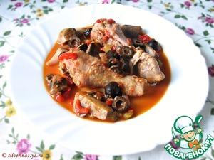 Рецепт Цыпленок каччиаторе