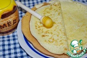 Рецепт Блины бисквитные (вариант)