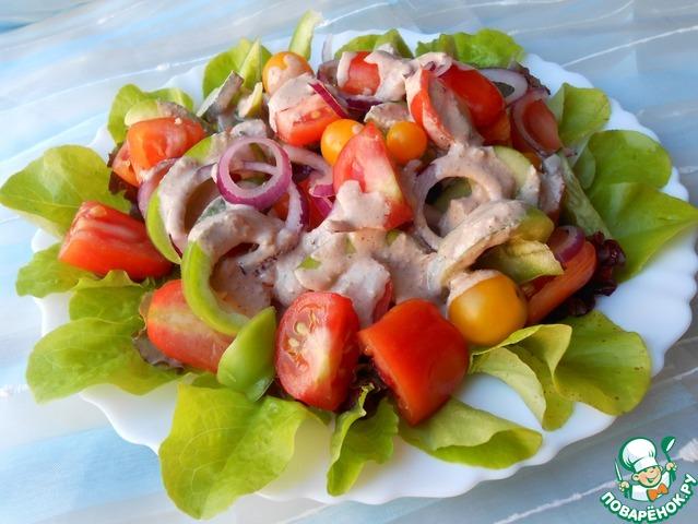 грузинский салат рецепт с фото