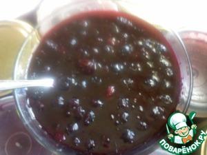 Рецепт Варенье из чёрной рябины