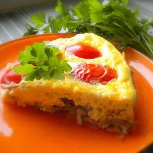Рецепт Омлет с диким рисом